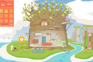 《环保小树屋》游戏画面1