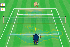 《小忍者网球》游戏画面1