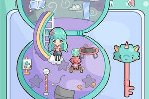 《小女孩过家家4》游戏画面1