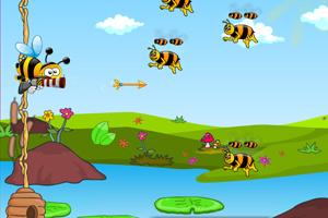 《保护蜂巢》游戏画面1