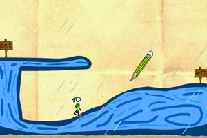 《魔法画线冒险》游戏画面1