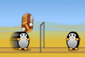 《企鹅排球》游戏画面1