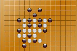 《挑战五子棋》游戏画面1