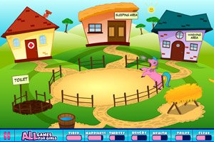 《照顾小马》游戏画面1