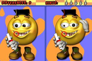 《棒球笑脸找不同》游戏画面1