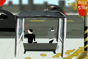 《车站偷放屁》游戏画面1
