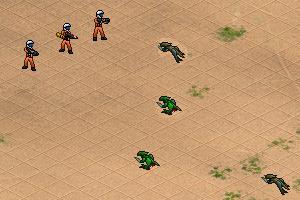 《沙漠之战修改版》游戏画面1