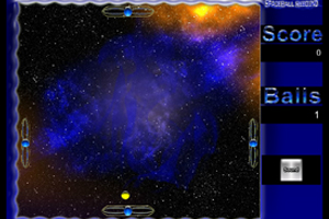 《空间四面弹球》游戏画面1