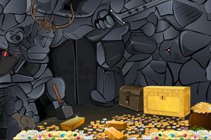《逃离宝藏洞穴》游戏画面1