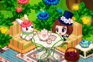 《魔法花园》游戏画面1