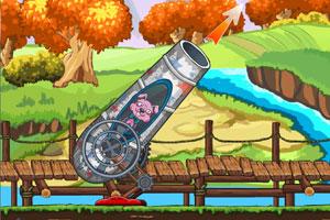 《班尼兔大炮》游戏画面1