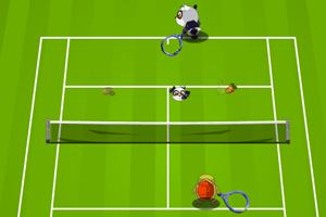 《熊猫乌龟网球赛》游戏画面1