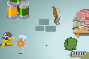 《小孩大联盟铁胃任务》游戏画面1