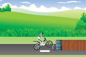 《摩托技巧之简单挑战》游戏画面1