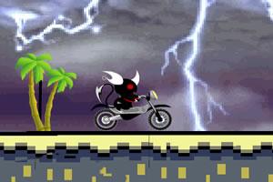 《小恶魔骑摩托》游戏画面1