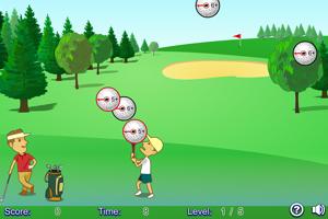 《高尔夫接球赛》游戏画面1
