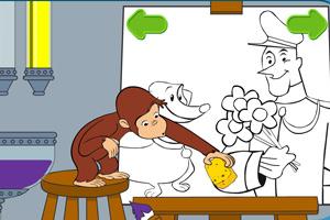 《小猴画画》游戏画面1