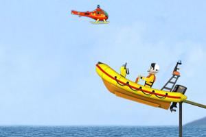 《救生艇训练》游戏画面1