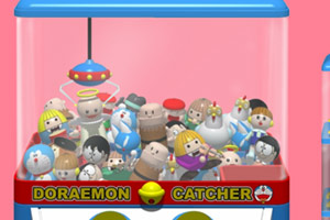 《哆啦a梦娃娃机》游戏画面1