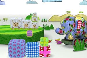《堆放礼物盒3D》游戏画面1