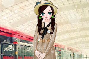 《女孩等地铁》游戏画面1