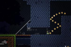 《小绿块闯古堡》游戏画面1