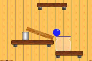 《小球入罐》游戏画面1