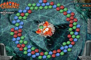 《螃蟹打彩球》游戏画面1