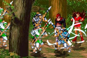 《穿越战纪v2.2无敌版》游戏画面1