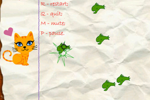 《纸上猫咪防守》游戏画面1