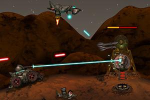 《最后的火星人基地》游戏画面1
