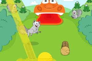 《鳄鱼高尔夫》游戏画面1