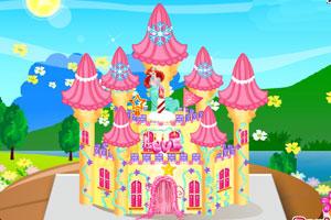 《公主的城堡蛋糕》游戏画面1