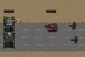 《沙漠星际防卫战》游戏画面1