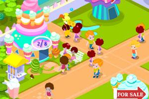 《儿童商业区》游戏画面1