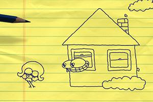 《铅笔画小人4》游戏画面1