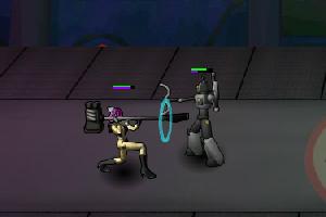 《太空女战士大乱斗》游戏画面1