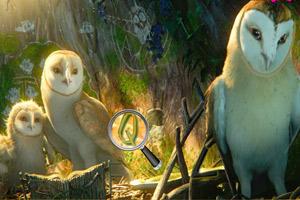 《猫头鹰守护神找字母》游戏画面1