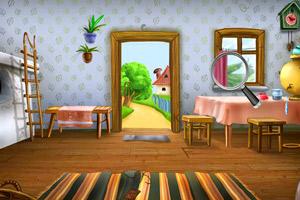 《房间找字母》游戏画面1