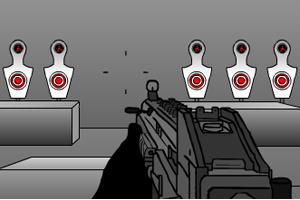 《特警射击训练》游戏画面1