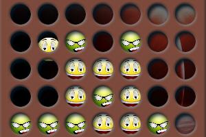 《笑脸四连》游戏画面1