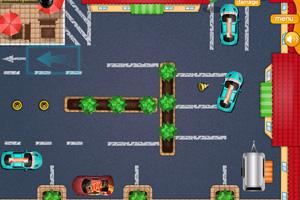 《外卖小哥停车》游戏画面1