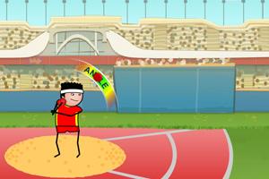 《投铅球大赛》游戏画面1