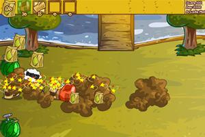 《水果大战害虫》游戏画面1