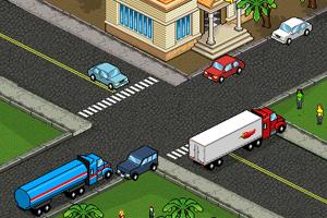 色彩方块交通指挥
