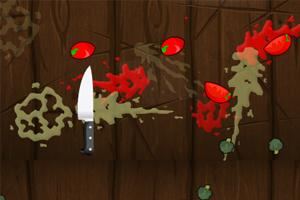 《削水果忍者》游戏画面1