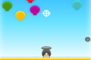 《加农炮射气球2》游戏画面1