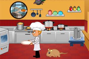 《厨房大战害虫》游戏画面1