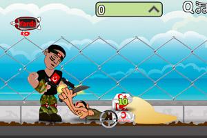 《战士守护小镇》游戏画面1