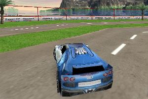 《赛车竞速赛》游戏画面1